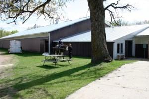 Buck Lake Stables Barn